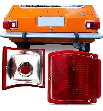 Lanterna Traseira Belina 1973 A 1977 Direita Canto Vermelha