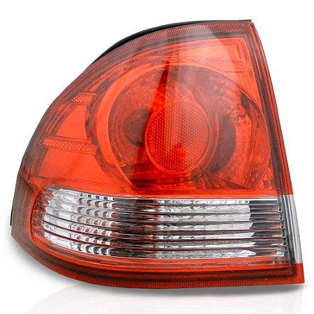 Lanterna Traseira Corsa Classic 10 Esquerdo Canto Cristal