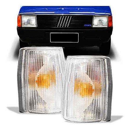 Lanterna Dianteira Uno 1984 A 1990 Esquerda Cristal