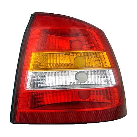 Lanterna Traseira Astra Hatch 99 A 02 Lado Esquerdo Tricolor