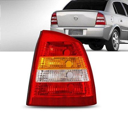 Lanterna Traseira Astra Sedan 99 A 02 Lado Direito Tricolor