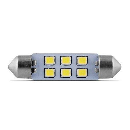 Lampada De Led Torpedo 42mm 12V Branca