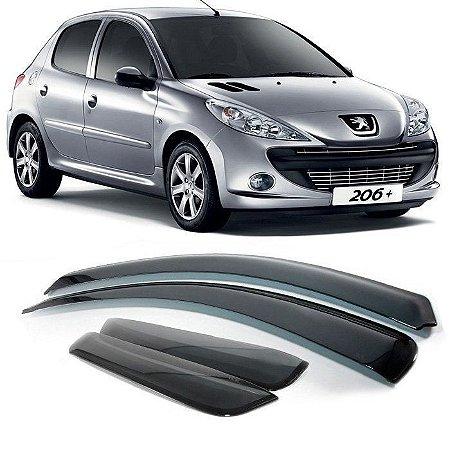 Calha De Chuva Peugeot 206 A 207 4 Portas