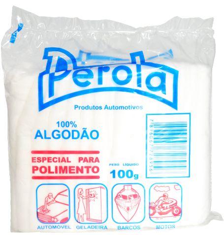 Algodão Para Polimento Perola 100G