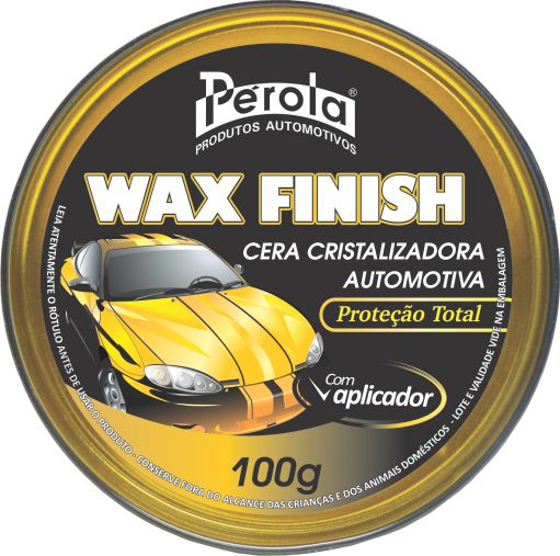 Cera Cristalizadora Wax Finish 100G