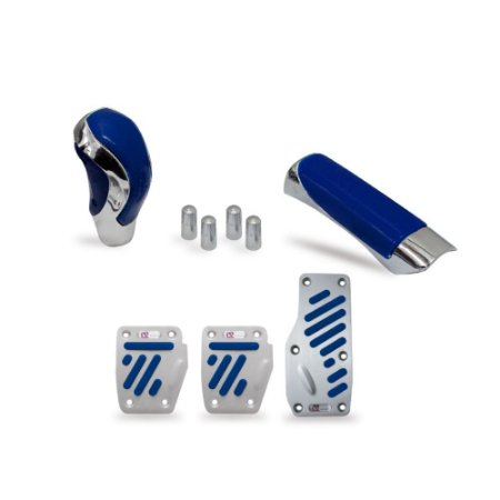 Kit Chrome Universal Azul
