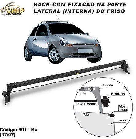 Rack Do Teto Ford Ka 97 A 02 Fixo No Friso Do Teto