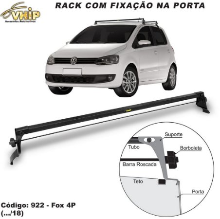 Rack Do Teto Fox 4 Portas