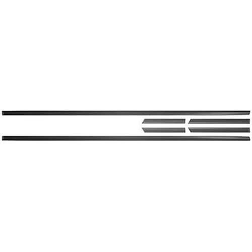 Friso Da Porta Escort Ate 92 Alumínio Preto