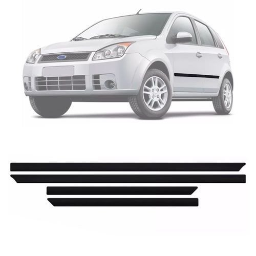 Friso Da Porta Fiesta Sedan e Hatch 2006 4 Portas