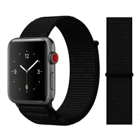 Pulseira Nylon Preto Apple Watch / iWO