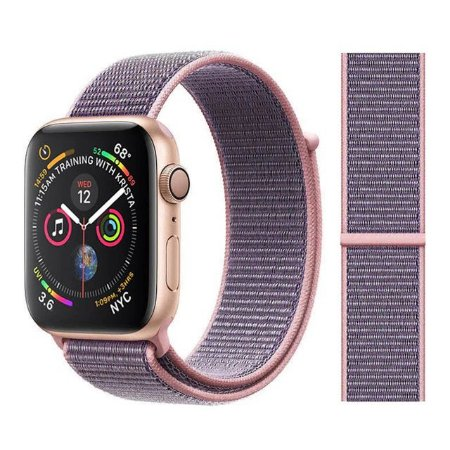 Pulseira Nylon Rosa Apple Watch / iWO