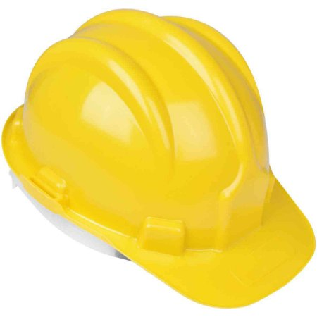 Capacete de Proteção Plastcor Amarelo Classe B CA31469 10Pcs