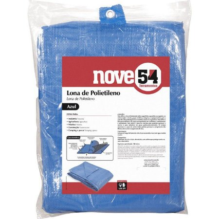 Lona Polietileno  9 X 4 Ecc  -  NOVE54