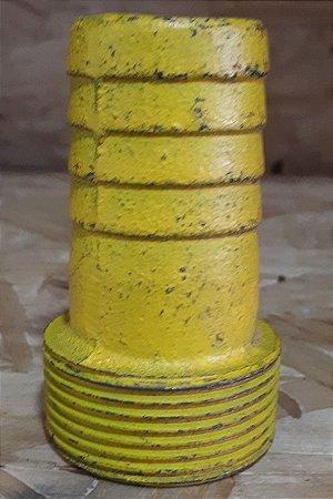 Espigao Fixo Macho Rosca 1.1/4 X 1.1/4 Ferro Fundido