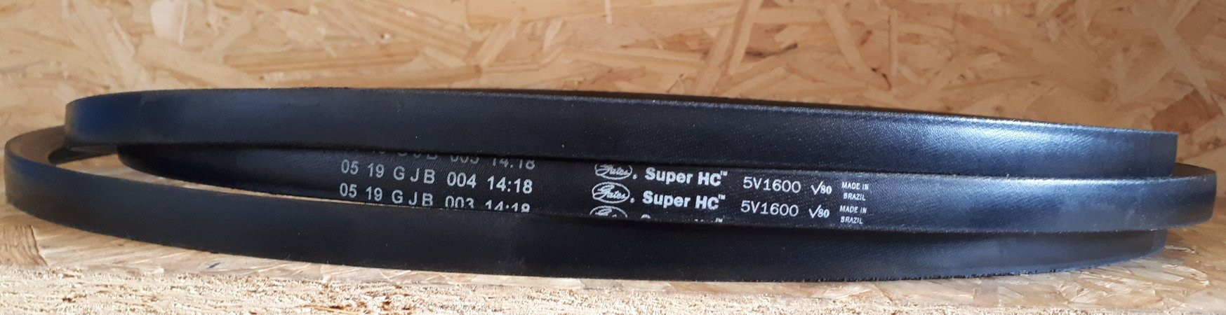 Correia em V 5V1600 Super HC Gates V80