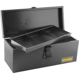 Caixa Ferramenta Metal Bau C/band 40cm Vonder
