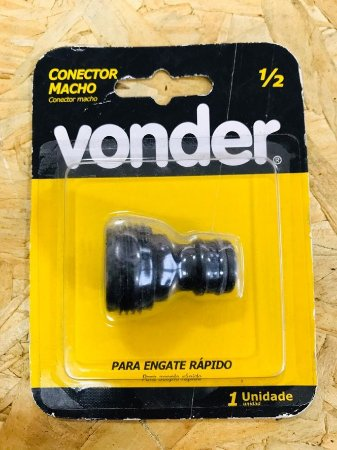 Conector Macho 1/2  Vonder