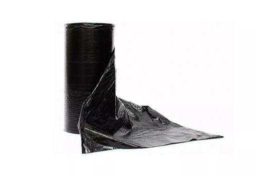 Lona Plastica Preta  6mt x 150 micras Negreira