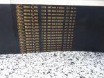 Correia Micro V  460J (PJ 1168) Gates - 24-Ribs