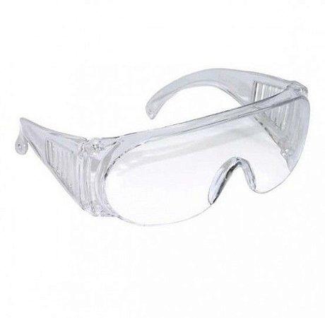 Kit 3 Oculos de Proteção Panda Incolor - C.A. 10344