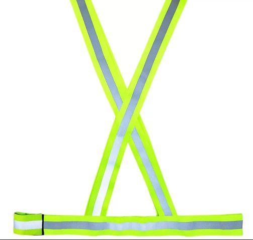 Colete Refletivo Verde/Prata