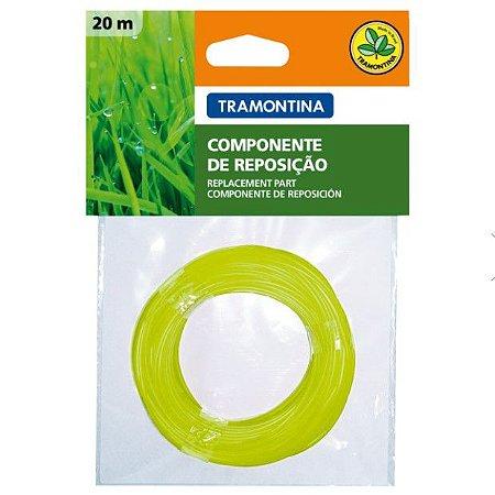 Fio de Nylon 1,8mm p/Aparadores c/20mts 78796284 Tramontina