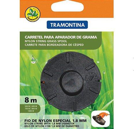 Carretel 1 Fio de Nylon 1,8mm p/Aparadores c/8mt 78799463 Tramontina