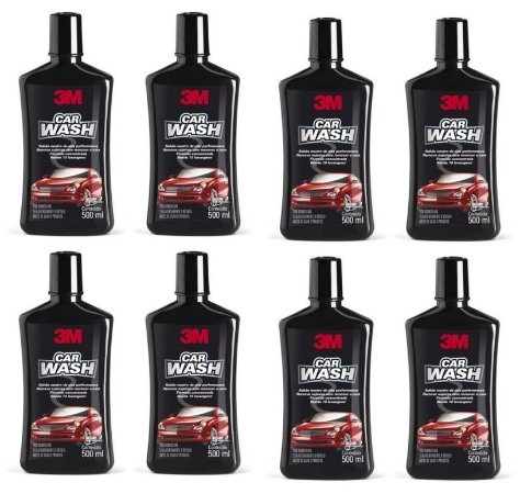 8 Shampoo Automotivo 3m Car Wash 500ml