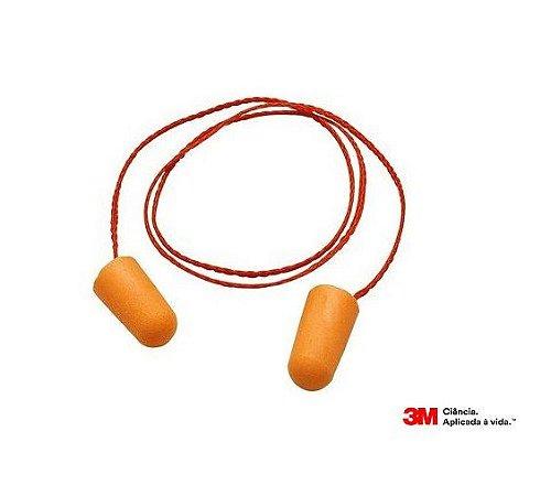 15 Protetor Auricular Plug Espuma 1110 3M C/ Cordão
