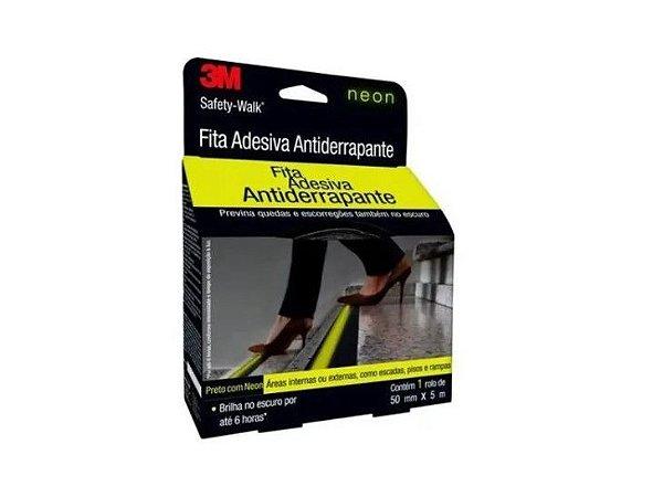 Fita Antiderrapante 3M Safety-Walk Neon 50 mm x 5mts Escadas