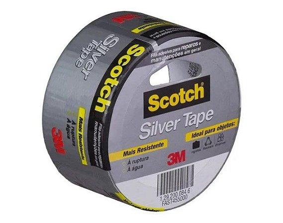 Fita Silver Tape 3M 45mm x 5mt