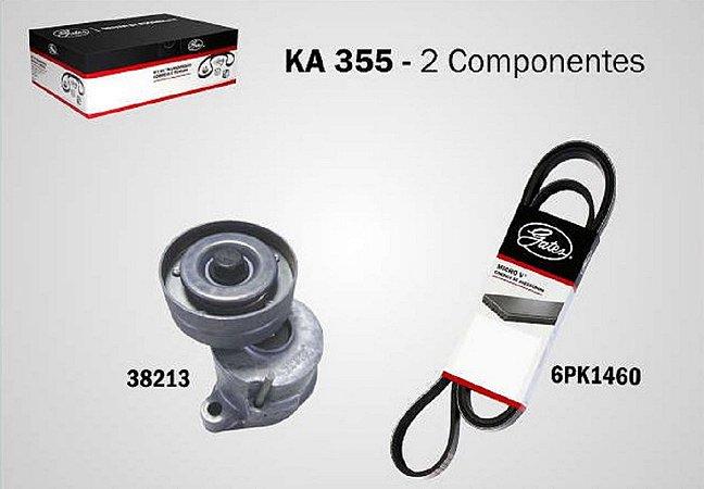 Kit Correia Dentada Corsa Celta 1.0/1.4 Ka355 Gates