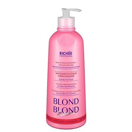 Matizador Hidratante Blond Blond Platinum Richee