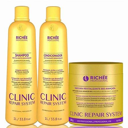 Kit Clinic Repair System 3 Produtos