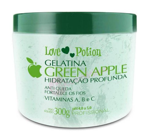 Gelatina Hidratante Green Apple Love Potion 300 g