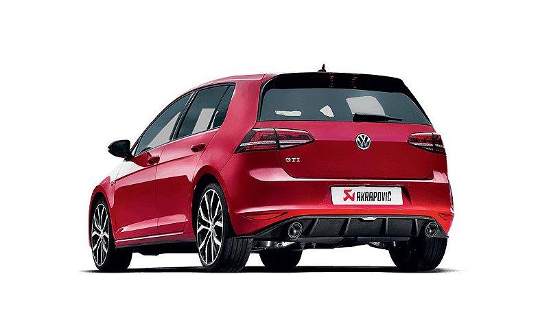 Akrapovic Slip-On Race Line VW Golf GTI MK7