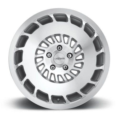 Rotiform CCV Silver Machined 5X100 - 18x8,5 ET35 18x9,5 ET35