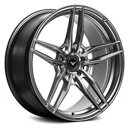 Vorsteiner V-FF 110 Zara Gray 5X120 20X9,5 ET22 - 20X10,5 ET34 Para BMW M2, M2 Competition, M3 e M4