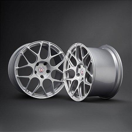 HRE P40SC Liquid Silver 5X130 19X9 ET46 - 19X11,5 ET68