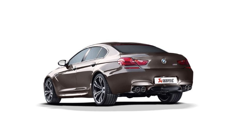 Akrapovic BMW M6 GRAN COUPÉ (F06)