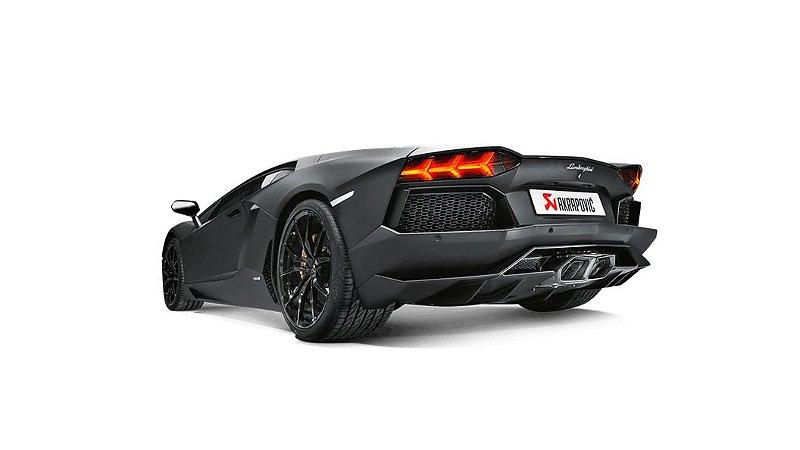 Akrapovic Lamborghini Aventador LP 700-4 Coupé - Roadster