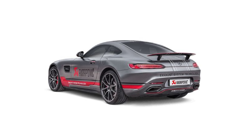 Akrapovic Mercedes-AMG GT - GT S