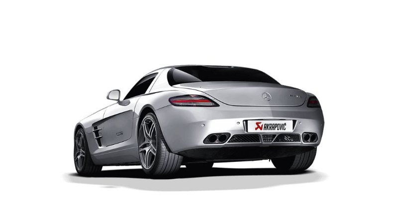 Akrapovic Mercedes-AMG SLS Coupé - Roadster (C197/R197)
