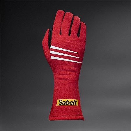 Sabelt - Luvas Challenge TG-3 Vermelha FIA 8856-2000