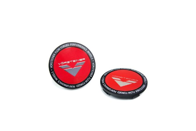 Vorsteiner Classic Red Center Cap