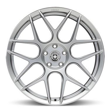 HRE FF01 Liquid Silver 5X130 19x8,5 ET50 - 19x10 ET40 - Porsche 981 e 718
