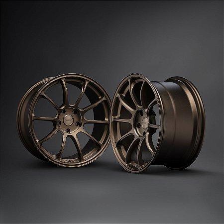 Rays Racing ZE40 Bronze 5x120 19x9 ET23 - 19x10 ET34 para BMW M2,M3,M4,M5 e M6