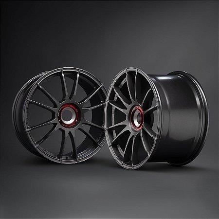 OZ Ultraleggera CL Matt Graphite Silver 20x9 ET49 - 20x12 ET56 Para Porsche Centerlock 991