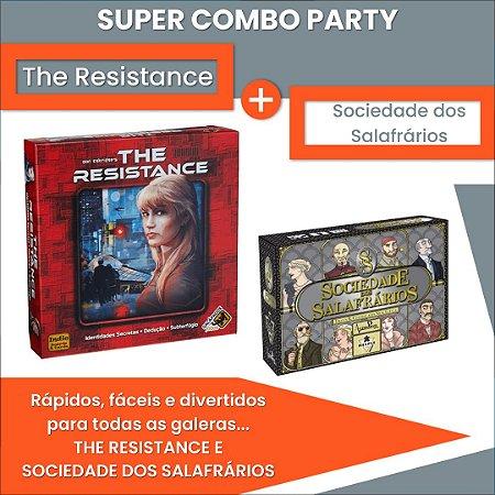 COMBO PARTY: THE RESISTANCE E SOCIEDADE DOS SALAFRÁRIOS